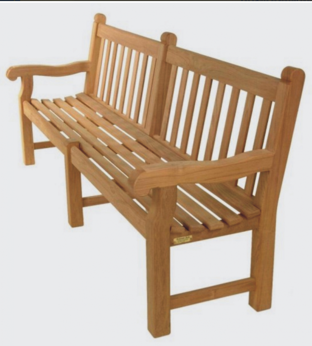 8FT Oxford bench (with centre legg)