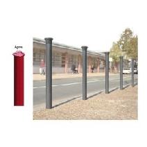 Decorative Steel Bollards-Agora. Image