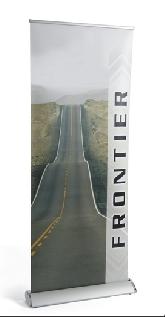 Frontier Roller Banner.