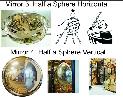 Hemispheric Mirrors Half a Sphere.