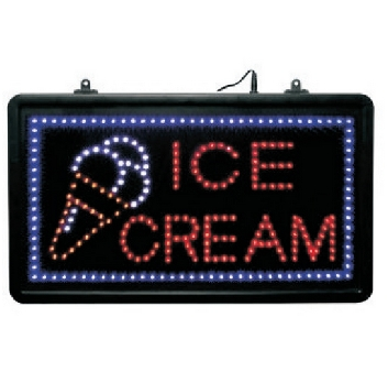 Ice Cream LED Sign.