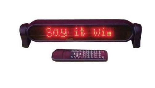 LED Portable Moving Message Machine.