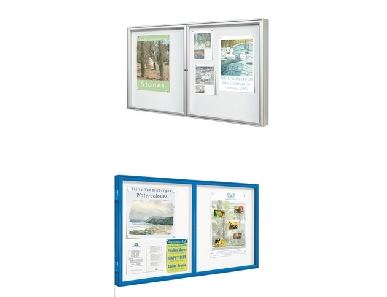 Outdorr Dual Door 1000 Display Case.