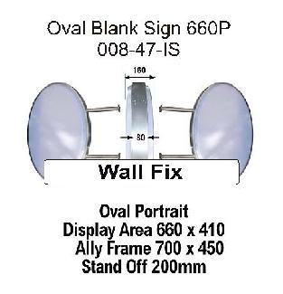 Oval Blank Portrait End Fix 660p.
