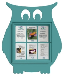 Owl Display Case