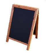 Quality Square Top Chalk Board.Image