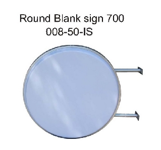 Round Blank Sign Wall Fix 700.