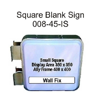 Square Blank Sign-End Fix.