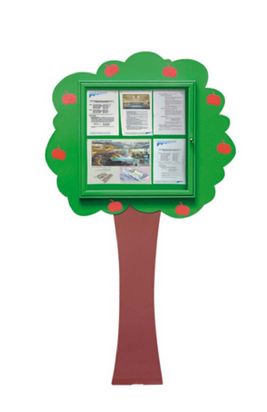 Tree Wall Mounted Disolay Case